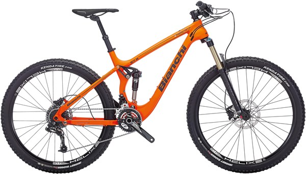 "Image of Bianchi Ethanol 27.2 FS Trail  27.5"" Mountain Bike 2017 - Full Suspension MTB"