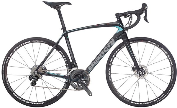 Image of Bianchi Infinito CV Disc - Ultegra Mix Compact 2017 - Road Bike