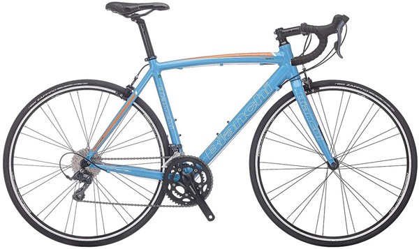 Image of Bianchi Via Nirone 7 Dama Bianca - Claris Compact Womens 2017 - Road Bike