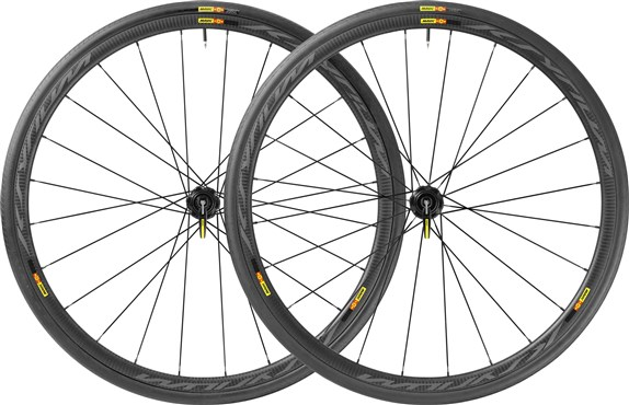 Image of Mavic Ksyrium Pro Carbone SL C Disc Clincher Road Wheels 2017