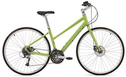 Ridgeback Velocity Disc Open Frame Womens 2016 - Hybrid Sports Bike