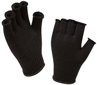 Product image for Sealskinz Merino Fingerless Cycling Gloves Liner AW17
