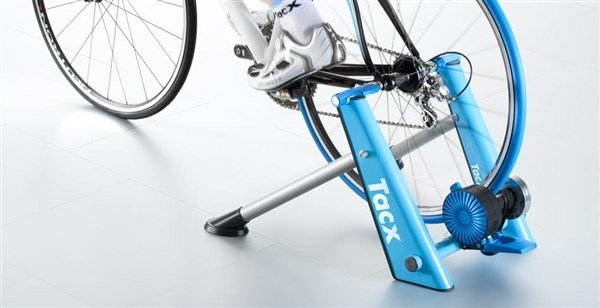Image of Tacx Blue Twist Folding Magnetic Trainer T2675