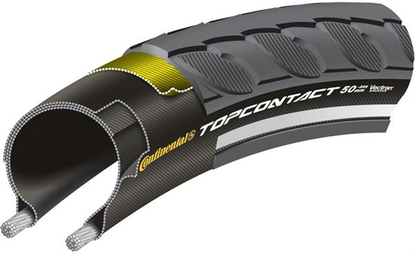 Image of Continental Top Contact Reflective Hybrid Tyres
