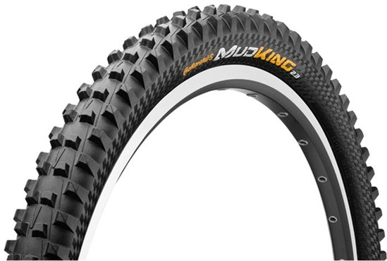 Image of Continental Mud King Protection 26 inch Black Chili Folding MTB Tyre