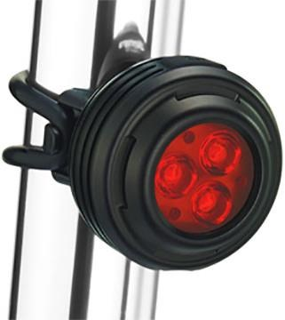 Gemini Iris USB Rechargeable Rear Light - 200 Lumens