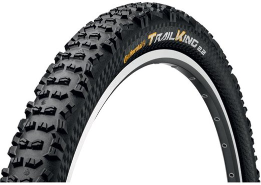Image of Continental Trail King UST 26 inch Black Chili Folding Off Road MTB Tyre