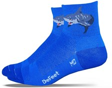 Product image for Defeet Aireator Shark Attack Socks