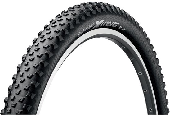 Image of Continental X King 26 inch PureGrip Off Road Folding MTB Tyre