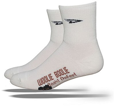 "Image of Defeet Woolie Boolie Black Sheep 4"" Cuff Socks"
