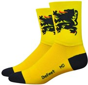 Product image for Defeet Aireator Lion of Flanders Socks