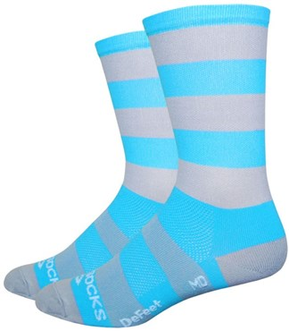 "Image of Defeet Aireator Sako 7 6"" Hi Top Socks"