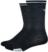 "Defeet Cyclismo Wool 5"" Socks - Reflective Stripe"