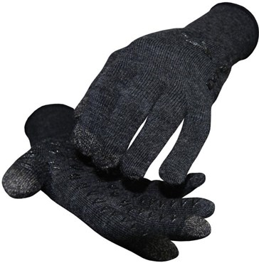 Image of Defeet Dura E-Touch Wool Long Finger Cycling Gloves