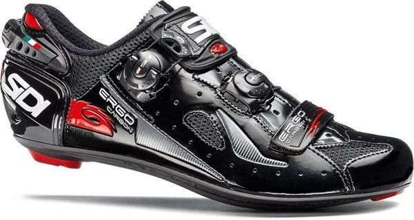 Image of SIDI Ergo 4 Carbon Comp Lucido Road Cycling Shoes