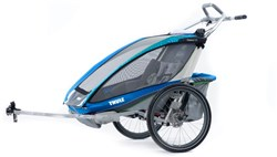 Thule Chariot CX 2 Child Carrier U.K. Certified -  Inc. Cycle Kit