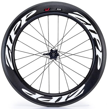 Image of Zipp 808 Firecrest Carbon Clincher 177 24 spokes 10/11 Speed Rear Wheel
