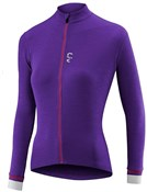 Product image for Liv Womens Ricca Merino Long Sleeve Cycling Jersey