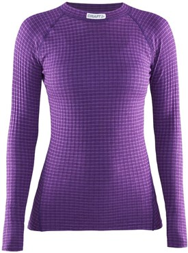 Craft Warm Wool Crew Neck Womens Long Sleeve Base Layer