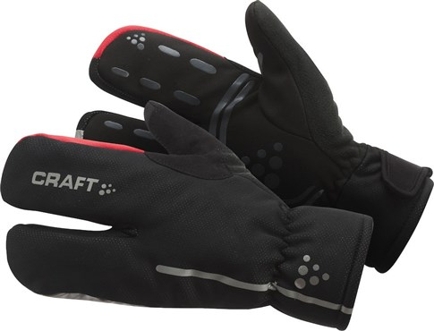 Image of Craft Siberian Split Finger Cycling Gloves