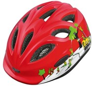 Abus Smiley Kids Cycling Helmet With Rear Mounted LED Light 2016