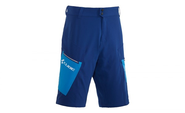 Image of Cube Tour Baggy Cycling Shorts With Inner Shorts