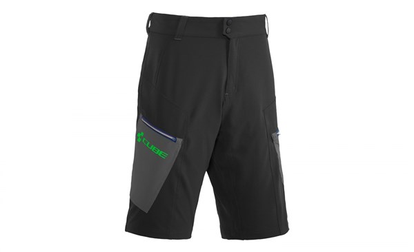 Image of Cube Tour Baggy Cycling Shorts