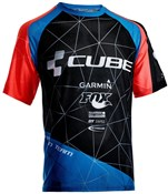 Product image for Cube Action Roundneck Team Short Sleeve Cycling Jersey