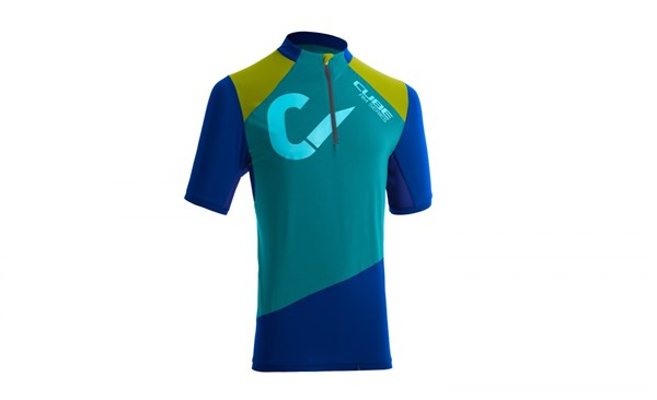 Image of Cube All Mountain Short Sleeve Cycling Jersey