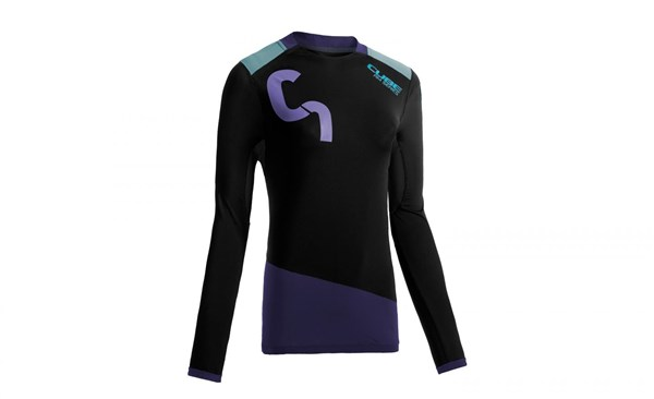 Image of Cube All Mountain WLS Roundneck Womens Long Sleeve Cycling Jersey