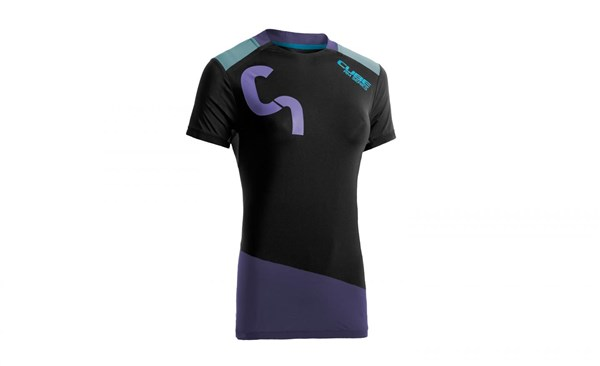 Cube All Mountain WLS Roundneck Womens Short Sleeve Cycling Jersey