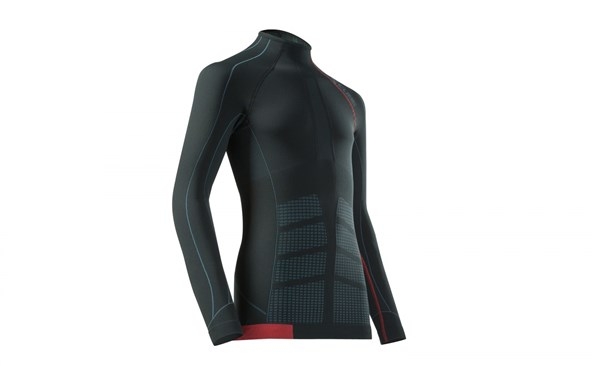 Image of Cube Undershirt Functional Cold Conditions Blackline Long Sleeve Cycling Base Layer