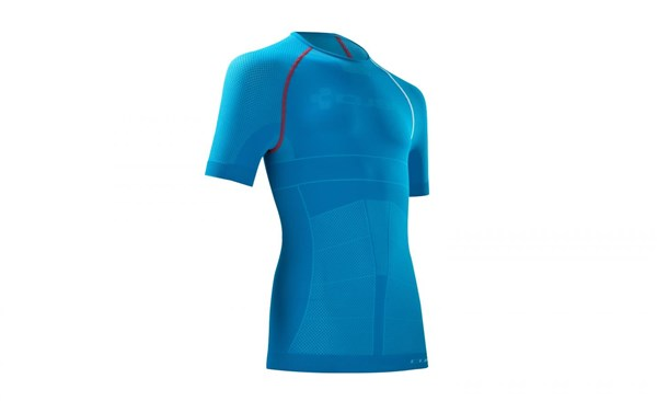 Image of Cube Undershirt Functional Teamline Short Sleeve Cycling Base Layer