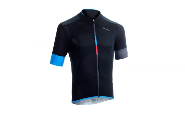 Image of Cube Black Zero Short Sleeve Cycling Jersey
