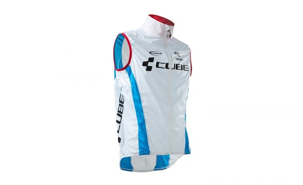 Image of Cube Teamline Pure Cycling Wind Vest / Gilet