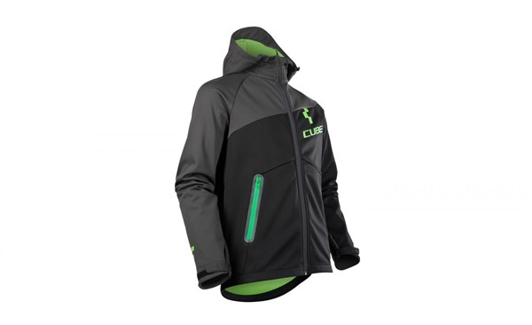 Image of Cube After Race Softshell Cycling Jacket