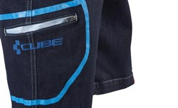 Cube Denim Baggy Cycling Shorts