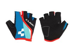 Product image for Cube Junior Race Eazy Short Finger Cycling Gloves