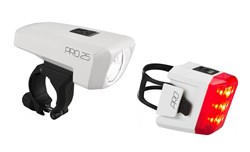 Cube Pro 25 USB Rechargeable Light Set