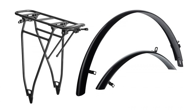 Cube Trekking HPA Mudguard and Rear Rack Set