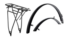 Product image for Cube Trekking HPA Mudguard and Rear Rack Set