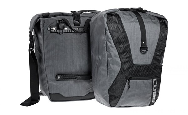 Image of Cube Travel Panniers - Pair