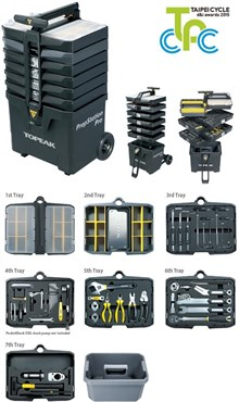 Image of Topeak PrepStation Pro Tool Kit with Tools