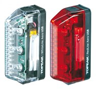 Topeak Aero Combo USB Rechargeable Light Set