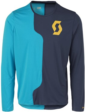 Image of Scott Trail Tech Long Sleeve Cycling Jersey
