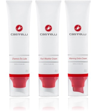 Image of Castelli Linea Pelle Combo Pack - 3 x 100ml