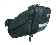 Topeak Aero Wedge DX Quick Clip Saddle Bag - Small