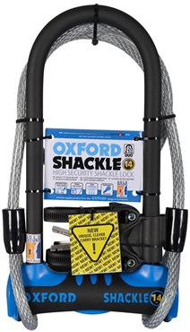 Oxford Shackle 14 D-Lock Duo Pack Gold Sold Secure