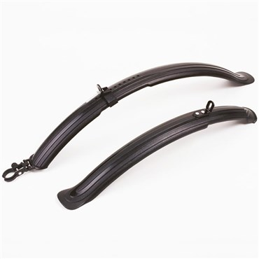 Image of Oxford Mud Stop 1 Hybrid Mudguard Set