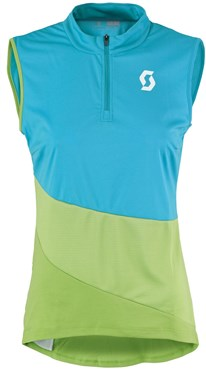 Image of Scott Trail Flow Sleeveless Womens Cycling Jersey